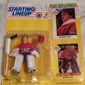 New Patrick Roy NHL Collectible Figure
